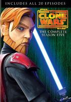 Cover image for Star wars, The clone wars The complete season five