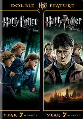 Cover image for Harry Potter and the deathly hallows Parts 1 & 2