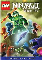 Cover image for LEGO Ninjago masters of spinjitzu : Season two