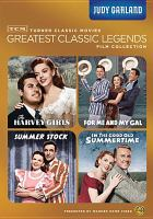 Cover image for Turner Classic Movies greatest classic legends film collection Judy Garland