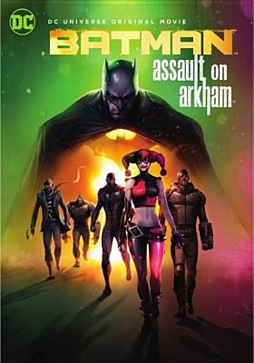 Cover image for Batman assault on Arkham