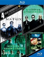 Cover image for 4 film favorites The Matrix collection