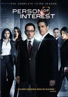 Cover image for Person of interest The complete third season.