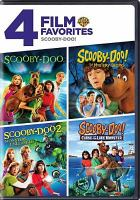 Cover image for Scooby-Doo! 4 film favorites.