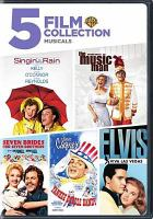 Cover image for 5 film collection musicals