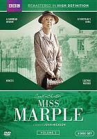 Cover image for Miss Marple [fullscreen DVD] volume 3