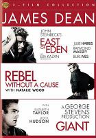 Cover image for James Dean 3-film collection