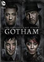 Cover image for Gotham The complete first season