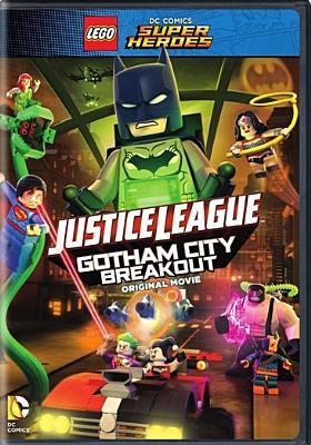 Cover image for LEGO DC comics super heroes. Justice League Gotham City breakout