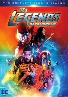 Cover image for DC's legends of tomorrow The complete second season