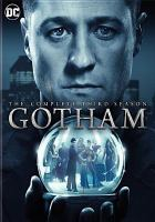Cover image for Gotham: The complete third season