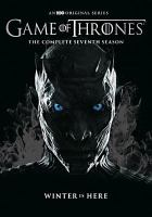 Cover image for Game of thrones The complete seventh season