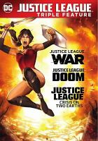 Cover image for Justice League triple feature