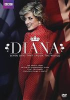 Cover image for Diana seven days that shook the world