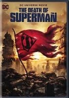 Cover image for The death of Superman