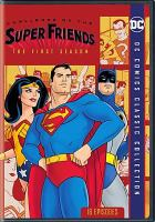 Cover image for Challenge of the Super Friends. The first season
