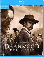 Cover image for Deadwood the movie