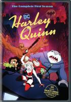 Cover image for Harley Quinn the complete first season.