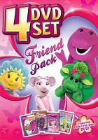 Cover image for Friend pack. 4 DVD set