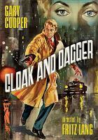 Cover image for Cloak and dagger