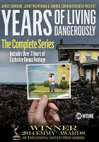 Cover image for Years of living dangerously the complete series
