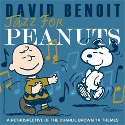Cover image for Jazz for Peanuts a retrospective of the Charlie Brown TV themes