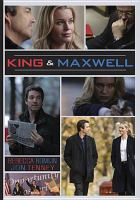 Cover image for King & Maxwell season one.
