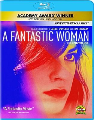 2017: A Fantastic Woman  [Bluray] image cover