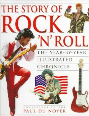 book cover for The Story of Rock 'N' Roll