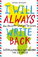 I Will Always Write Back: How One Letter Changed Two Lives cover