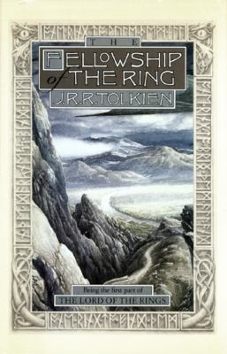 book cover for Fellowship of the Rings