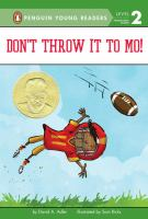 Don't Throw It To Mo! cover