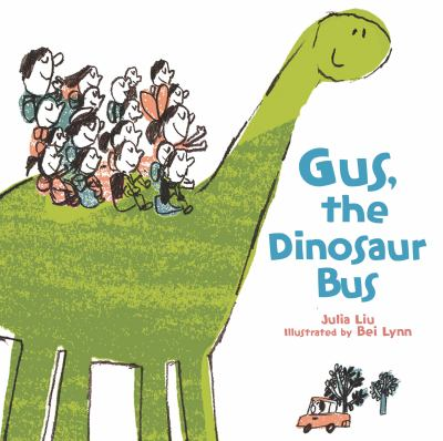 Gus, the Dinosaur Bus image cover