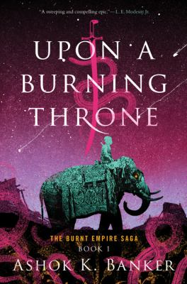 Upon a Burning Throne  image cover