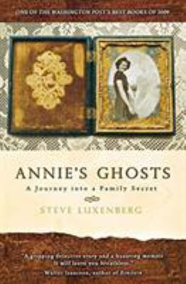 Annie's Ghost book cover art