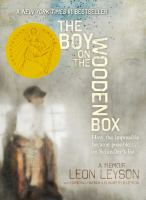 The Boy On The Wooden Box: How the Impossible Became Possible on Schindler's List cover