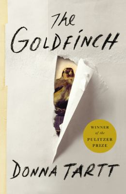 book cover for The Goldfinch