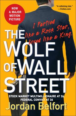 book cover for The Wolf of Wall Street