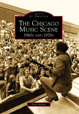 book cover for The Chicago Music Scene