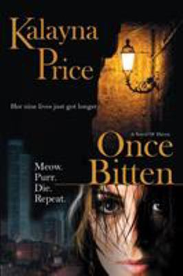 book cover for Once Bitten