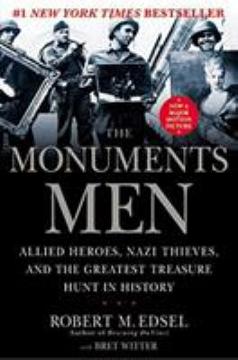 book cover for The Monuments Men