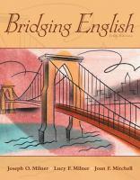 Bridging English / Joseph O. Milner, Lucy M. Milner, Joan F. Mitchell.