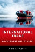 International trade : what everyone needs to know
