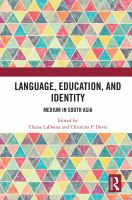 Language, education, and identity : medium in South Asia