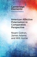 American affective polarization in comparative perspective