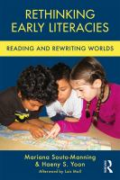 Rethinking early literacies : reading and rewriting worlds