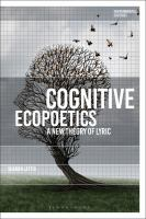 Cognitive ecopoetics : a new theory of lyric