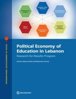 Political economy of education in Lebanon : research for results program