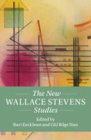 The new Wallace Stevens studies