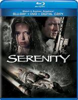 Serenity [Blu-ray + DVD], widescreen.